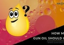 how much gun oil should i use